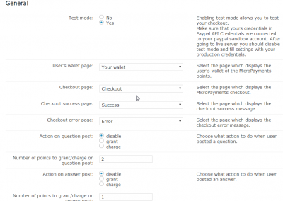 This example shows how someone could integrate micro-payments with our Question and Answer forum plugin for WordPress.